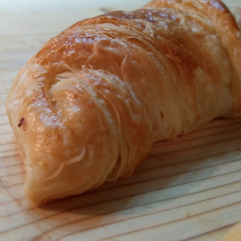 Ambarabà French croissant second slice