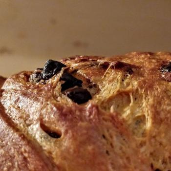 Ambarabà Panettone first slice