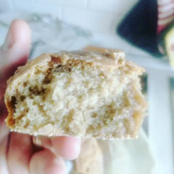 Ancient Farreus  Ancient bread first slice