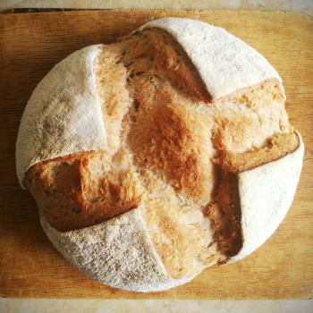 Astrakhan Frontier Bread first slice