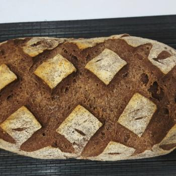 Ataliba Pão de Centeio second slice