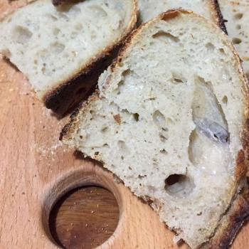Baron Basic Country Bread first slice