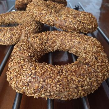 "Baron Turkish Sourdough ""Simit"" (Sesame Bread Ring) second overview"