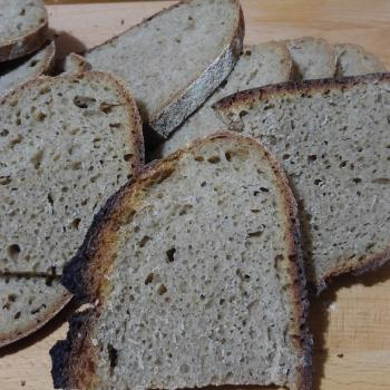 Baron Whole Wheat Bread first slice