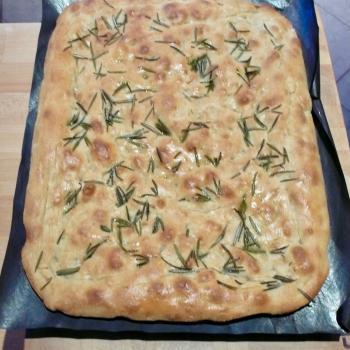 Bedda Matri Pizza & focaccia first slice