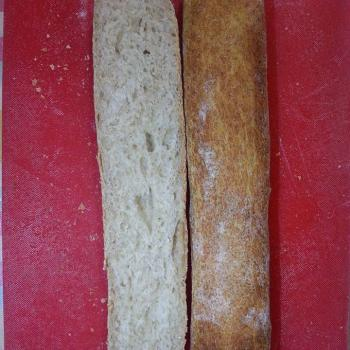 Bob (Sponge) Baguette second slice