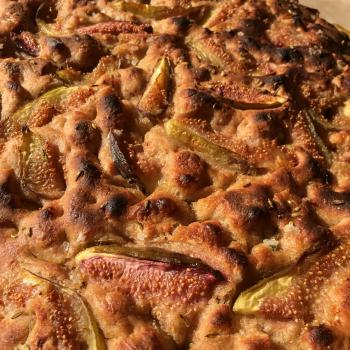 Bounty of the County Fig and Fennel Pollen Foccacia first overview