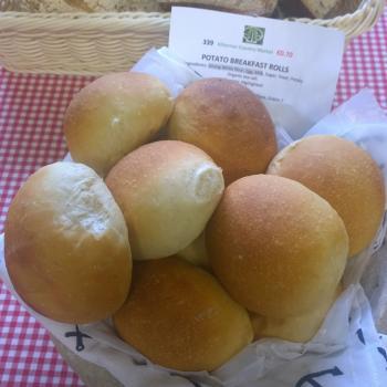 Bray Sourdough Potato rolls first overview