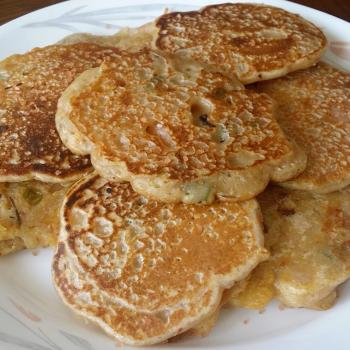 Bubbles Kimchi pancakes first overview