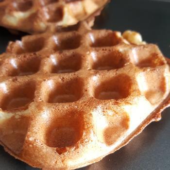 Bublé  Sourdough waffle first overview