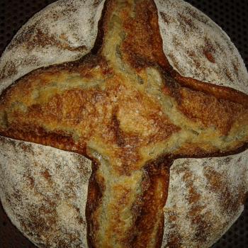 Buckwheat Bread first slice