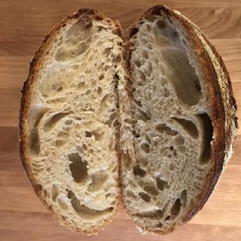 Budo#1 Pain de Campagne first slice