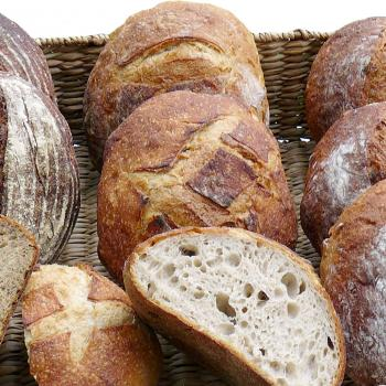 Camelot Natural levain breads first slice