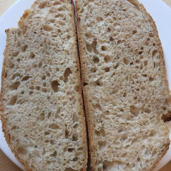 Cowry White Bread, Ciabatta, Durum wheat bread, pancakes, Naan first slice