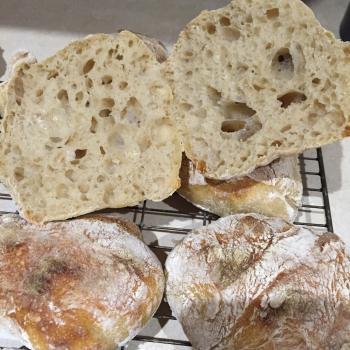 Cowry White Bread, Ciabatta, Durum wheat bread, pancakes, Naan second slice