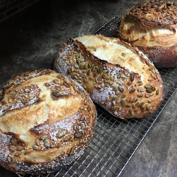 Domka Sourdough Bread  second slice
