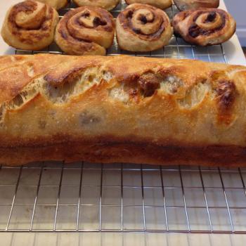 Emerson Sausage Bread second slice