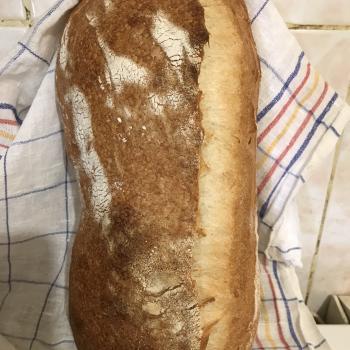 Fagottino Bread first slice
