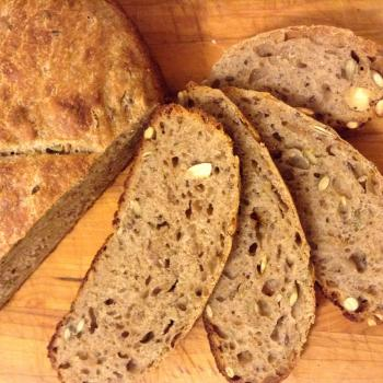 Hildegard  Breads et al first slice