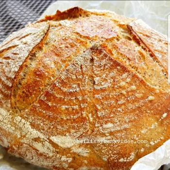 Isabella Sourdough Breads  first slice
