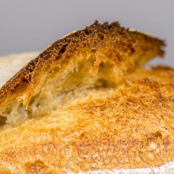 Jason Artisan bread first slice