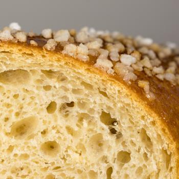 Jason Hokkaido Milk bread (tangzhong method) first slice