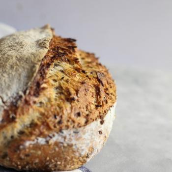 Jo Bread first slice