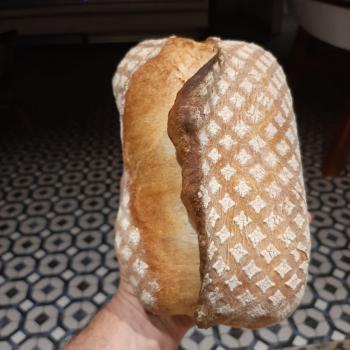 Judith Ciabatta first slice