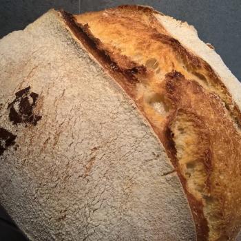 Katerina's Prozymaki Stencil Breads first slice