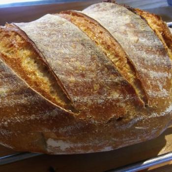 Kazi Žitný kváskový chlebík first slice