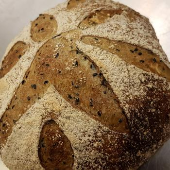 Mang Collar's Sourdough Sesame Loaf first overview