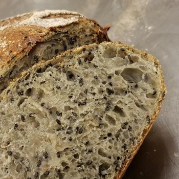 Mang Collar's Sourdough Sesame Loaf second overview