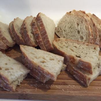 Maya Breads! first slice