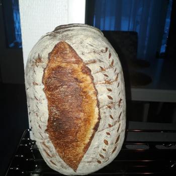 Memole My own style bread  first slice