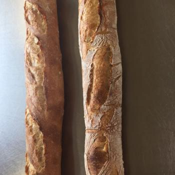 Mooswief Baguette first slice