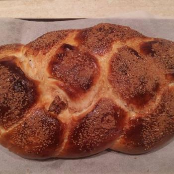 Number four Christmas Eve Bread; Easter Bread - Kozunak second slice