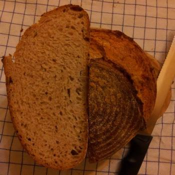 Number four Ristic bread second slice