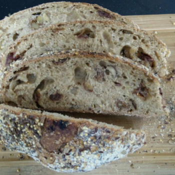 Oak Dates & Nuts loaf second overview