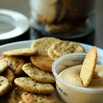 Oregon 2 Kansas Sourdough Crackers & Biscuits  first slice