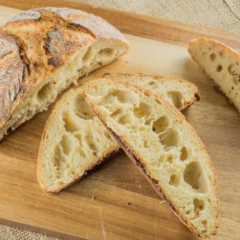Pasteur Challah second slice