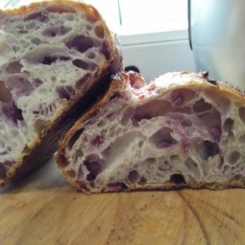 Pluto  Sourdough bread with purple sweet potato  second overview