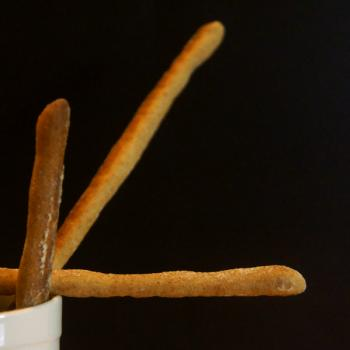 Q-chi Breadsticks first slice