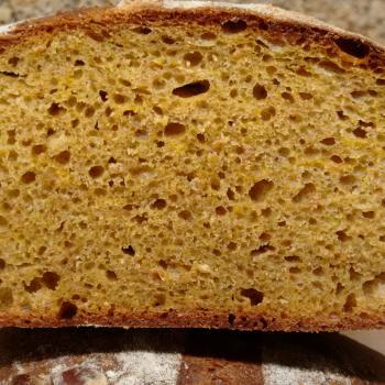Ryemond Pumpkin bread second overview