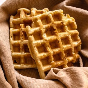 Sawa Waffles second slice