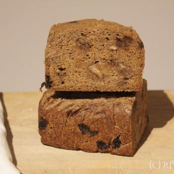 September starter Sourdough rye loaf second overview