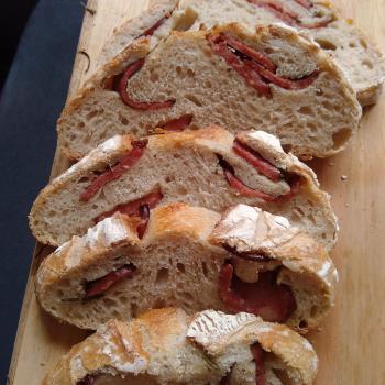 Simbyont Pão branco defumado second slice