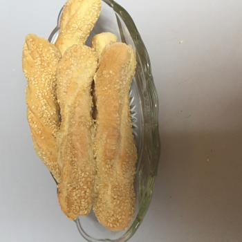 Sourdough Bread sticks, bread, dessert braid, biscuits,pancakes first slice