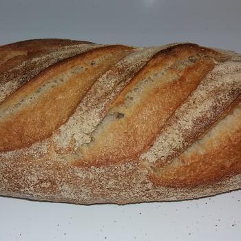 Spelt Sourdough Bread second overview