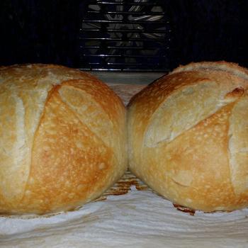 Spokan Bread first slice