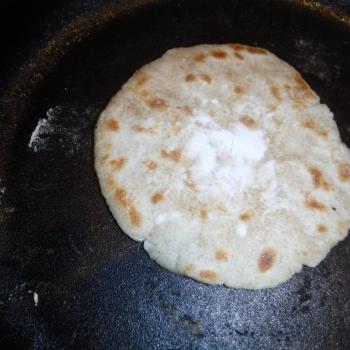 St John's Sourdough Flour Tortillas first slice